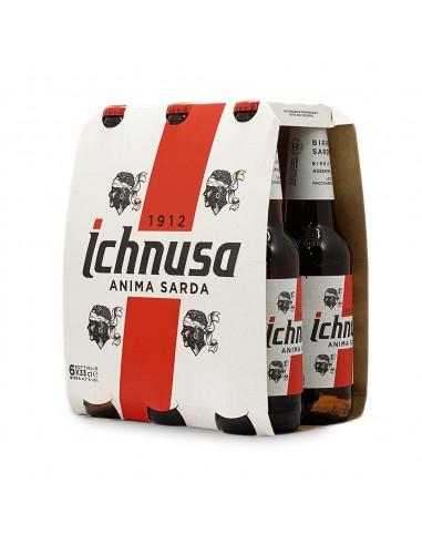 Birra Ichnusa 4,7% 33cl X 6 PZ