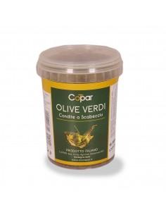 Olive Verdi Condite a Scabecciu Vasetto 300g Copar
