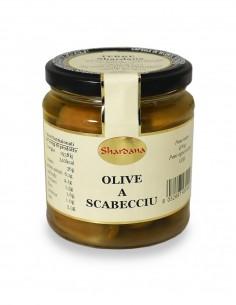 Olive a Scabecciu 270g Azienda Terre Shardana`