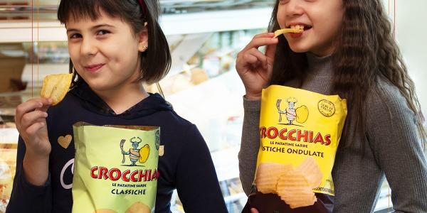 Crocchias: le uniche patatine sempre pronte a scrocchiare!